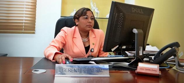 Gerente General Yudelka Jimenez